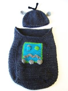 Robot Cocoon and Hat - Tutorial
