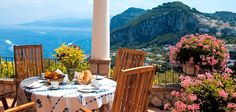 Breakfast in Capri