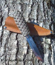 http://www.paracordist.com #Paracordist Creations LLC - Mora #knife #bushcraft #paracord