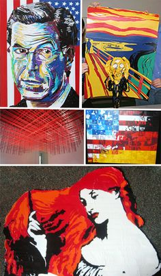 Duct tape art