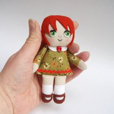 Rag Doll Patterns To Print | rag doll, handmade rag doll, red-haired doll, green eyes, green dress clothes for rag doll, handmad rag, craft, doll patterns, rag dolls, cloth doll, green eyes, dolli, doll green