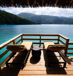 Relax in your own private cabana on Barefoot Beach. #labadee #caribbean