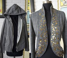 Cute idea. I'm thinking about what else I could embellish the lapel front pieces with - meke.