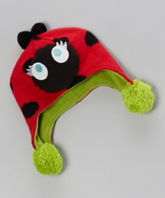 Ladybug Hat for Baby.