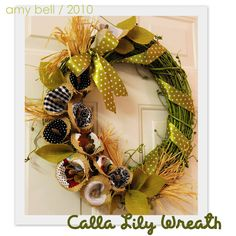 Great Cala Lily Wreath!!