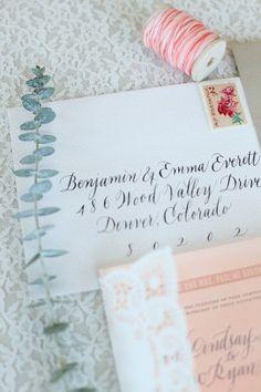 Ombre-Watercolor-Letterpress-Wedding-Invitations-Calligraphy