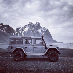 Defender in Iceland