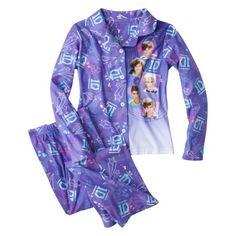 One Direction Girls' 2-Piece Pajama Set - Lavender