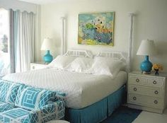 West Palm Beach bedroom, by Meg Braff