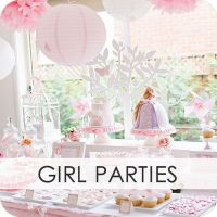 Every single party idea you can think of. Boys, girls, baby showers, bridal, so many THEME ideas, pool parties, teen parties..literally EVERYTHING.