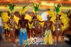 Samba Brazilian dancers Danseuse brésilienne Brazilian show brasil brazil brésil