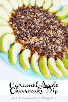 Couponing & Cooking: Caramel Apple Cheesecake Dip