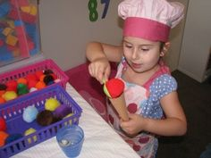 Ideas for setting up an imaginative play Ice Cream Shop