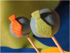 Tie-riffic Fathers Day Cake Pops