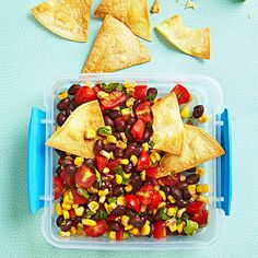 healthi snack, tortilla chip, kid lunchbox