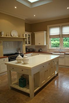 Love this style! I wanna cook in that kitchen. From Brabourne Farm Life blog - the whole house is gorgeous!
