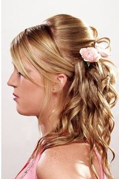 LONG HAIR AND UPDO HAIRSTYLES