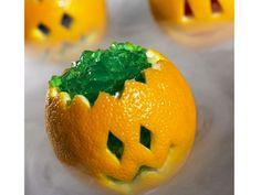 How cute is this Pumpkin Jello?