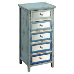 Bring beach-chic style to your living room, bedroom, or office with this gently weathered chest, perfect for showcasing lush spring florals or your favorite ...