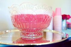 pink sherbet punch