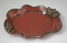 Stoneware Tray by AmyMansonPottery on Etsy, $25.00