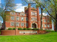 Huntington, WV : Old Main Building at Marshall University