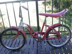 Banana seat bikes....
