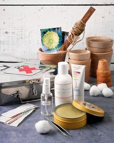 First-Aid Kit for Gardeners