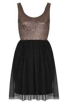 Love this metallic party dress!