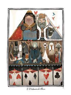 draw, julia sarda, illustr julia, ilustracion, alice in wonderland, art, alicia, júlia sardà, wonderland illustr
