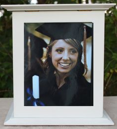The Perfect Card Box - Graduation Card Box- White, $62.99 (http://www.theperfectcardbox.com/graduation-card-box-white/)