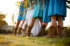 Cowboy boots must be at  my wedding!