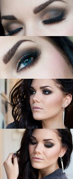 Smokey party eye