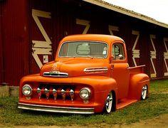 ride, trucks, pickup, ford f1, dream, 1951 ford, hotrod, hot rod, custom car
