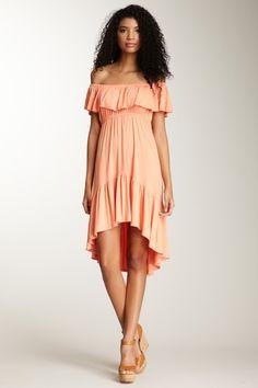 James & Joy Ruffle Dress - This would be cute on so many body types, especially curvy :)