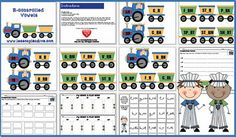 R-controlled vowel centers and activities and freebie - Pinned by @PediaStaff – Please visit http://ht.ly/63sNt for all (hundreds of) our pediatric therapy pins
