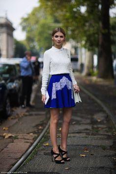 Cobalt Blue Outfit Ideas