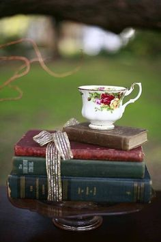 Books and tea...