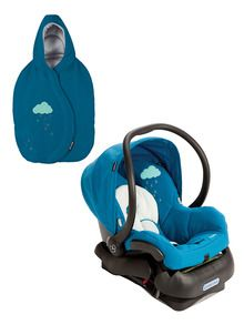 Blue Mico Infant Car Seat with Footmuff by Maxi-Cosi at Gilt