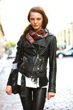 Leather Jacket So Cute!