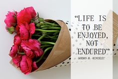 """Life is to be enjoy..."