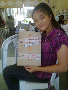 """""""Thank you so much for this. I learned through my shoe box that God loves me."""" ~OCC shoe box recipient"""