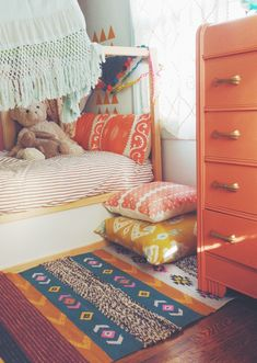 warm bohemian kido rooms...