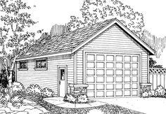Garage plans on pinterest garage plans car garage and for 18 x 20 garage plans