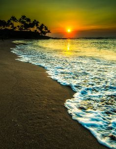 : beauty of sun set