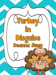 Turkey in Disguise Freebie!  Kindergarten