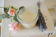DIY Lavender and Rose Deodorant
