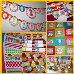Circus Theme in my class this year!  Too cute