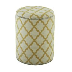 I pinned this Casablanca Stool from the Massoud event at Joss and Main!