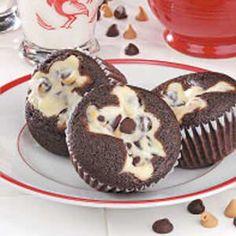 Cream Cheese Chocolate Cupcake